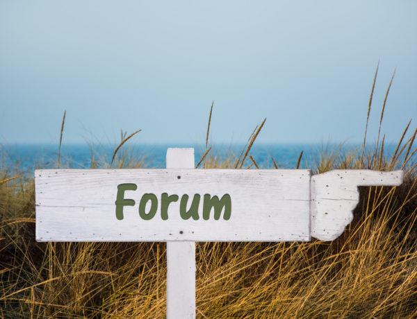 Schild 195 - Forum