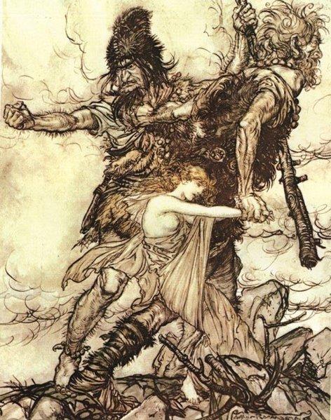 Riesen und Freya