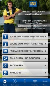 Die App zum Göta Kanal gibt es jetzt auch auf Deutsch. Foto: Göta Kanalbolaget