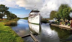Seit 140 Jahren im Dienst: Purer Genuss an Bord der ältesten Kreuzfahrtschiffe der Welt. Foto: Göta Kanalbolaget