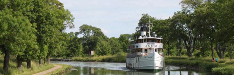 Seit 2004 steht die MS Juno unter Denkmalschutz. Foto: Göta Kanalbolaget