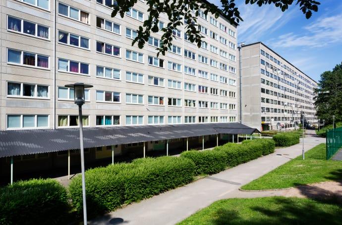 Hilfe willkommen: Im Göteborger Stadtteil Hammarkullen werden die SOS-Kinderdörfer aktiv.