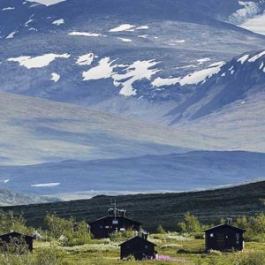 Hütten Lappland