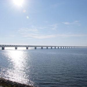 Die Öresundbrücke verbindet Dänemark mit Schweden