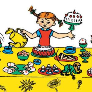 Pippi feiert Geburtstag