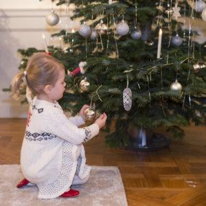 H.K.H. Prinsessan Estelle, på Haga slott julen 2014.