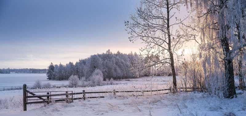 ...und wenn dann noch der Schnee kommt, ist der Weihnachtsurlaub in Småland perfekt! Foto: Pelle Wahlgren