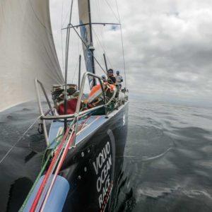 Das Volvo Ocean geht in die heiße Phase vor Göteborg. Foto: