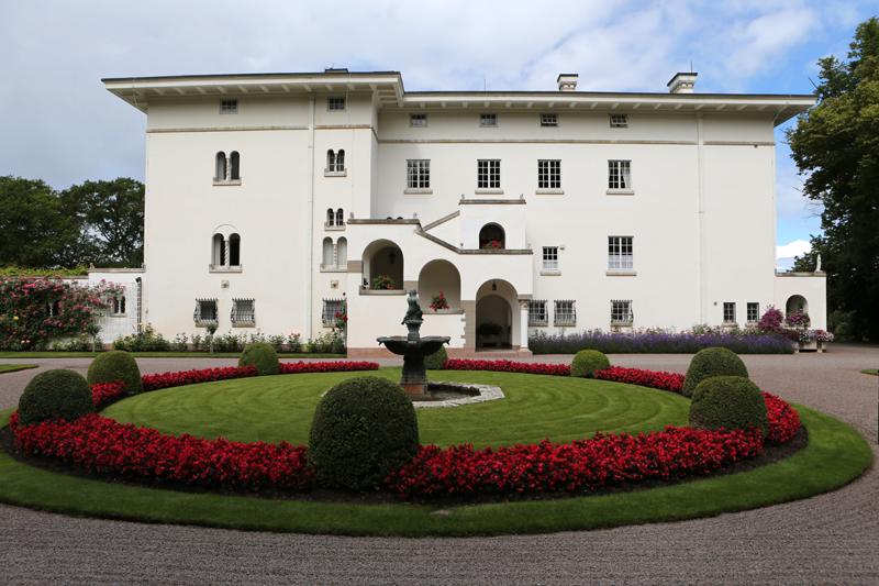 Schloss Solliden - erbaut im Stil einer italienischen Sommerresidenz. Foto: Charles Hammarsten