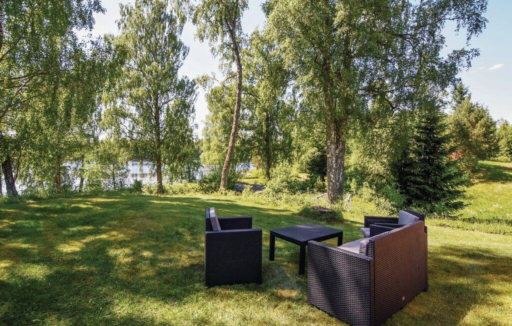 Schweden Ferienhaus Ambjoernarp  Outdoor