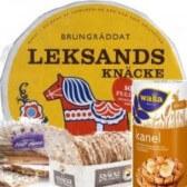 Leksands Knäcke, schwedische Lebensmittel