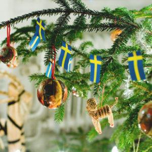 Am 13. Januar endet in Schweden offiziell die Weihnachtszeit.