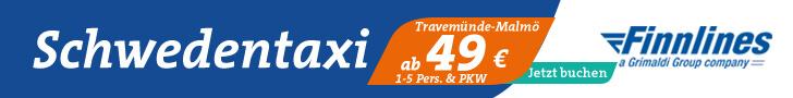 Schwedentaxi Angebot von Finnlines