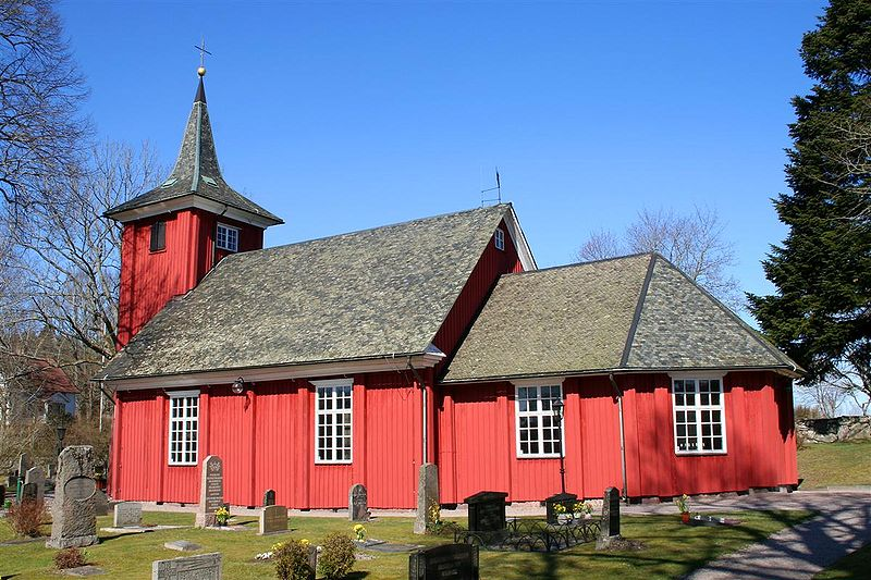 Kirche in Skållerud. Foto: Tor Svensson/ commons.wikimedia.org (CC BY-SA 3.0)