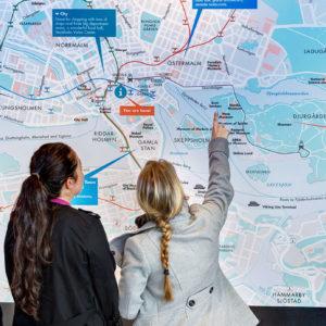 Stadttour Stadtplan