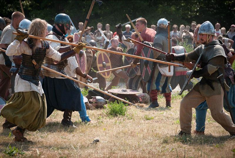 Die Schlacht von Trelleborg, Foto: Krister Parmstrand.