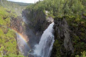 Wasserfälle Skandinavien