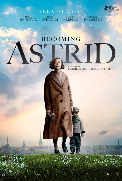 Becoming Astrid Filmplakat