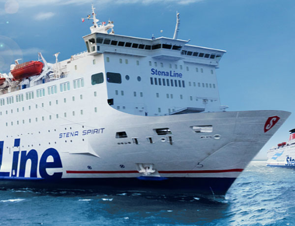 Fährverbindungen nach mit stenaline Anreise