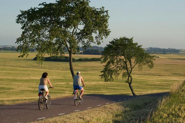 Fahrrad fahren auf dem Kattegattleden. Foto: Studio e (CC BY 3.0).