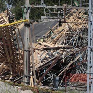 Brücke Schweden eingestürzt
