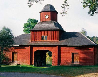 Die klassische Schwedenhaus-Farbe kommt aus Falun. Foto: Olle Norling.