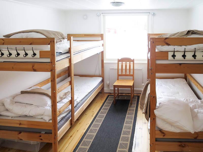 Ferienhaus Ambjoerby Kinderzimmer mit Etagenbett