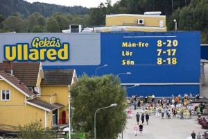 Shoppen, bis der Arzt kommt. Foto: Gekås Ullared, Jesper Petersson.