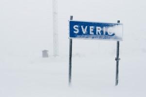Wo Schweden an seine Grenzen stößt. Lappland, hoch im Norden. Foto: Helena Wahlman, imagebank.sweden.se