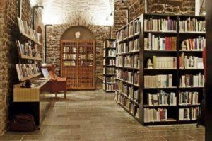 Die Bibliothek im Nobel-Museum