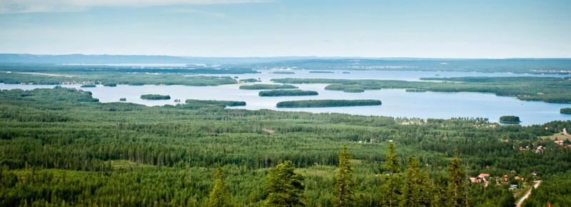 Der Siljan-See prägt Landschaft und Kultur von Dalarna. Foto: Jacque de Villiers/ Imagebank.sweden.se