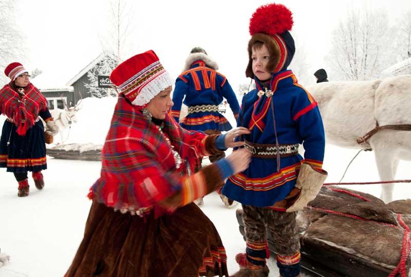 Sami Samen Lappland