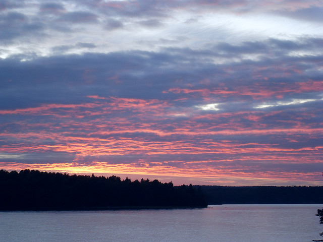 Abendstimmung am Östra Silen in Dalsland. Foto: a.froese/ flickr.com (CC BY-SA 2.0)