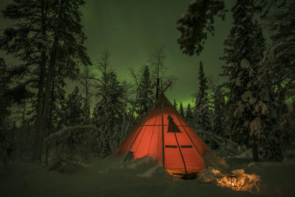 Sapmi Winter Camp Zelt