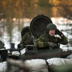 Die Wehrpflicht ist in Schweden wieder aktuell. Foto: Försvarsmakten.