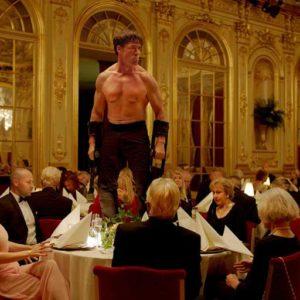 """Szene aus dem preisgekrönten Film """"The Square""""."""