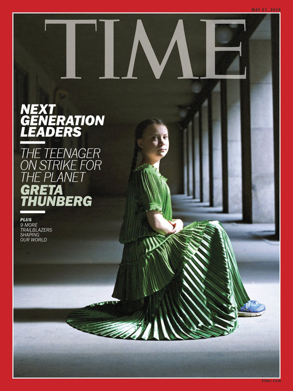 Greta Thunberg Time Magazin