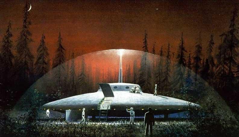 Ufo Zeichnung