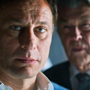"""Michael Nyqvist in """"Verblendung"""" - dem ersten Teil der bekannten Millium-Trilogie (2009)."""