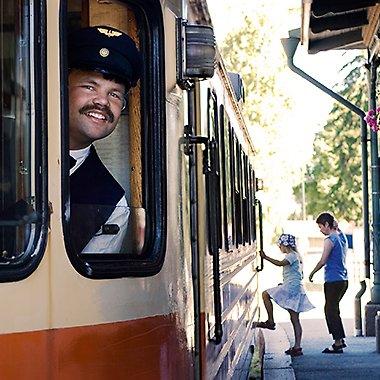 historische Eisenbahn Nora