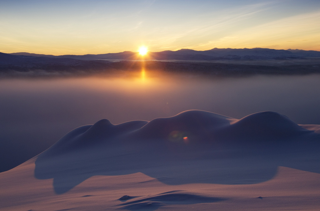 Sonnenuntergang am Åreskutan. Foto: andersc77 (Anders Carlsson) /flickr.com (CC BY 2.0)