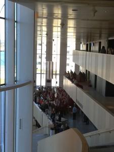 Aufgang vom Foyer