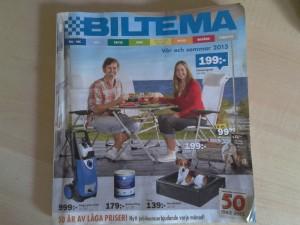Die 129. Ausgabe des Biltema-Katalogs - geliebt und gelesen