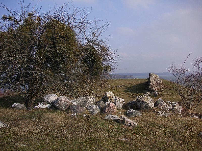 Die Überreste von Alsnö hus auf Adelsön. Foto: Holger Ellgaard /commons.wikimedia.org (CC BY-SA 3.0)
