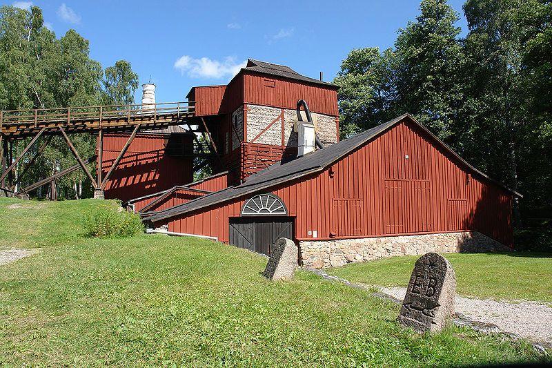 Engelsberg bruk. Hochofen. Foto: Jürgen Howaldt / de.wikipedia.org (CC BY-SA 2.0)
