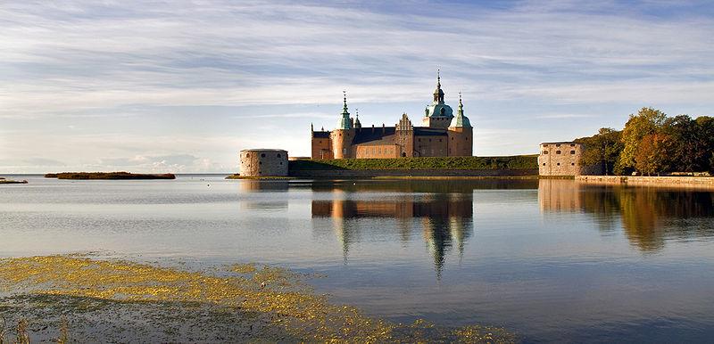 Schloss Kalmar, Gründungs- und Tagungsort der Kalmarer Union. Foto: Alexandru Baboş Albabos /commons.wikimedia.org  (CC BY 3.0)
