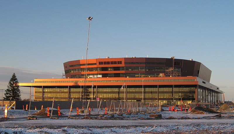 Die Malmö Arena, 2008. Foto: Jorchr /commons.wikimedia.org/ (CC BY-SA 3.0)
