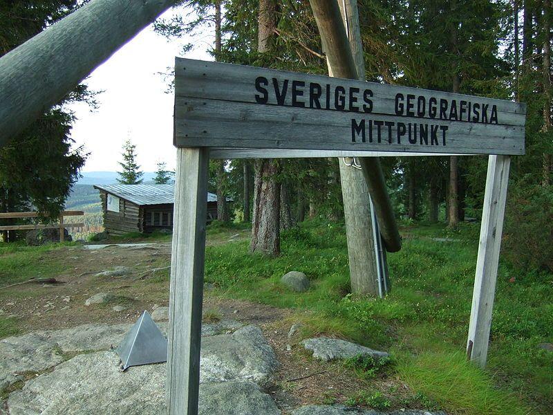 Flataklocken Sveriges Geografiska Mittpunkt