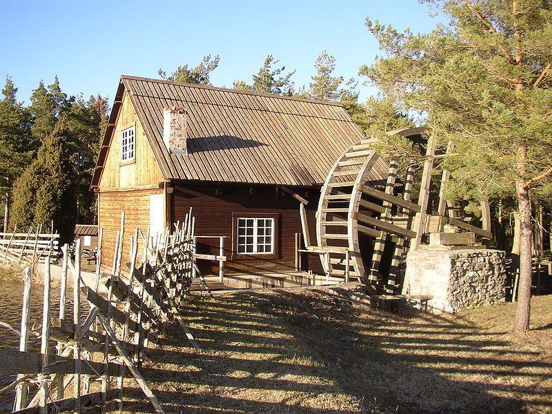 Aner Vattenkvarn, die Wassermühle von Aner. Foto: Rindert Bolt /de.wikipedia.org