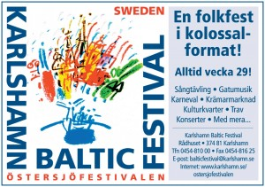 Das Logo des Festivals (Quelle: www.karlshamn.se)